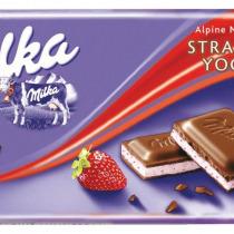 Milka 100g Strawberry
